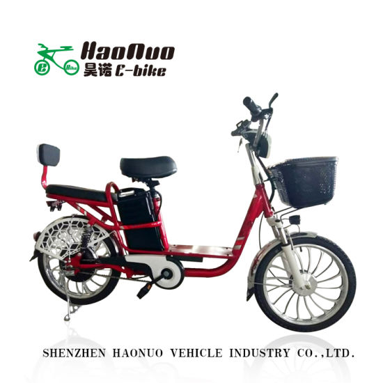 20 Inch Wheel 48V 350watt Light Weight Electric Bike with Pedal for Sale pictures & photos