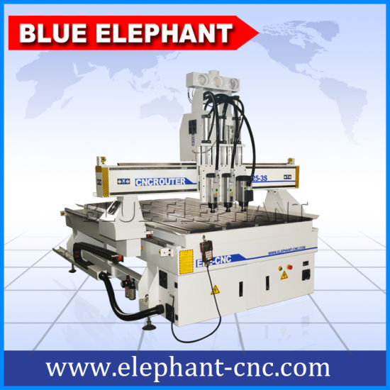 Ele 1325 High Precision CNC Wood Door Engraving Machine, CNC Router for Untique Furniture pictures & photos