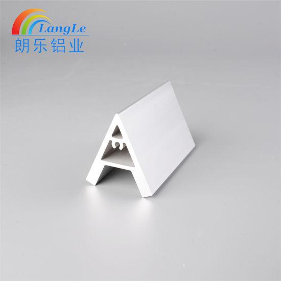 Floating Shelf Zinc Plated Steel Bracket 45 Degree Angle Corner Bracket for Aluminium Profile Accessories