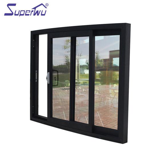 As2047 Sydney Hot-Sale Aluminium Windows Double Glazing Shaped Sliding Window Design
