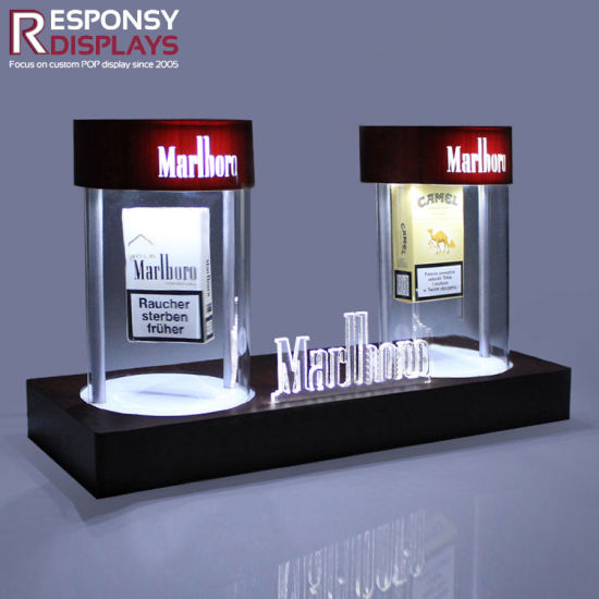 Attractive China Beautiful Design Custom Made Countertop Acrylic Display  AZ17