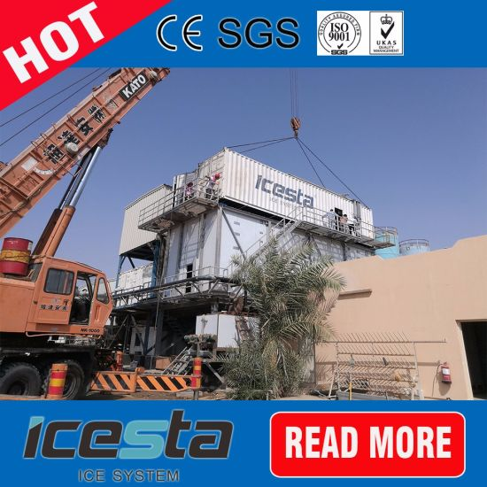 Top Quality Tube Ice Machine 10tons/Day Delivery