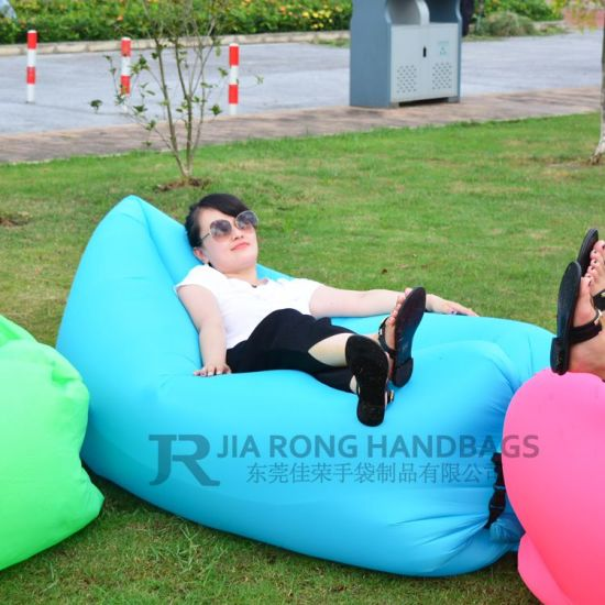 Hot Sale Summer Vacation Lounge Air Inflatable Sofa or Inflatable Round Air Bed