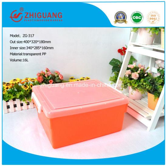 China Materials Top Quality Portable Plastic Storage Box China