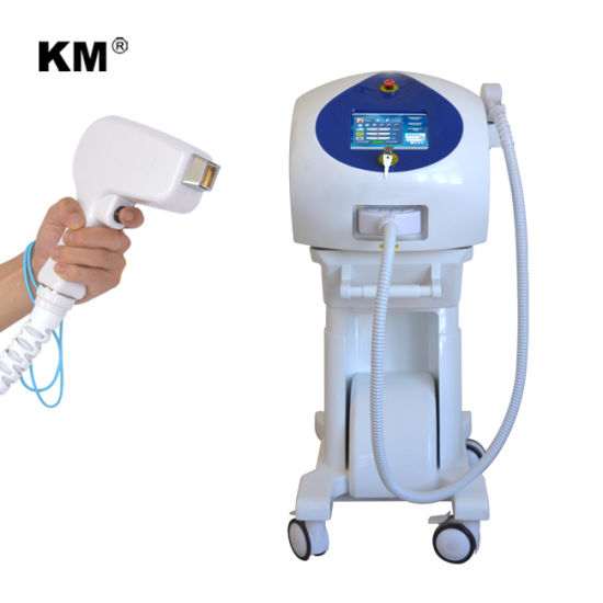 Beauty Salon Equipment 808nm Diode Laser Black Leg Eyebrow Hair