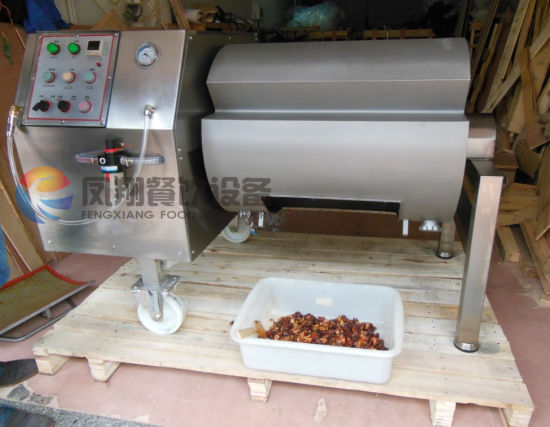 Vacuum Roll Chicken/Poultry Meat Seasoned Mixer Mixing Machine pictures & photos