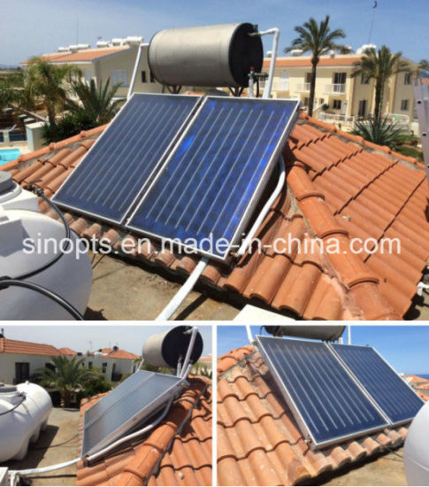 Solar Trend 300L Split Pressurized Flat Panel Solar Water Heater pictures & photos