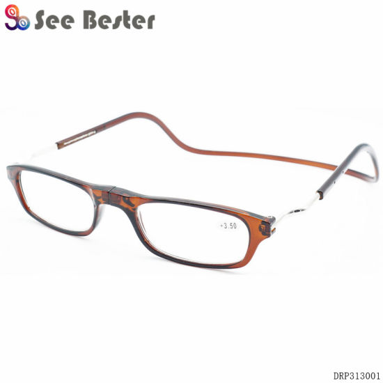49dde5151ed6 Clic Special Design Wholesale Popular Patent Magnetic Reading Glasses Hang  on Neck