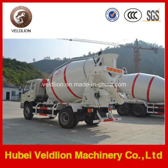 4*2 Forland 3-4 Cubic Meters Concrete Mixer Truck pictures & photos