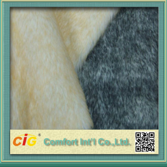 High Quality Colorful Faux Fur Fabric