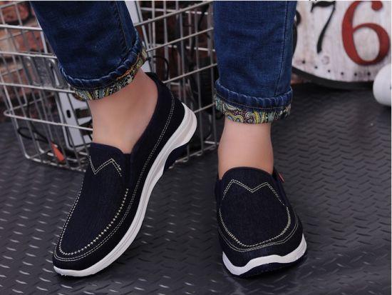 2018 Fashion Wholesale Style Men Canvas Shoes