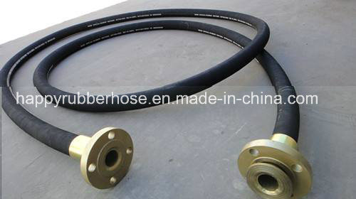 Wp3000psi Two Steel Wire Spiral Hydraulic Drilling Oil Mud Hose pictures & photos