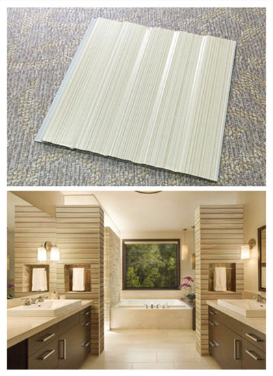 Best Price Plastic Decorative Laminated PVC Ceiling Panels Designs China DC-405 pictures & photos