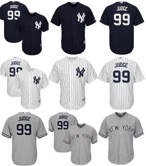 dfa82afe5e2 China New York Yankees Aaron Judge Cool Base Player Baseball Jerseys ...