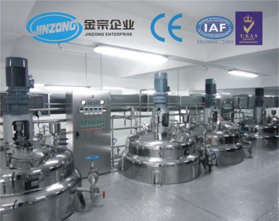 Jinzong Dishwashing Cleaning Liquid Mixing Making Machine