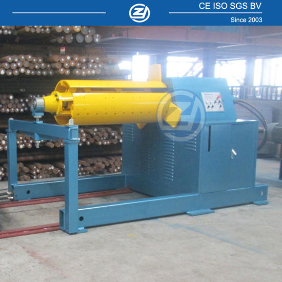 10 Ton Steel Coil Automatic Hydraulic Uncoiler Feeding Device for Roll Forming Machine with ISO9001/Ce/SGS/Soncap