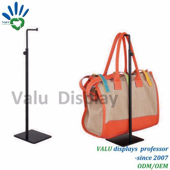 China Metal Stainless Steel Handbag Rack For Retail Display China