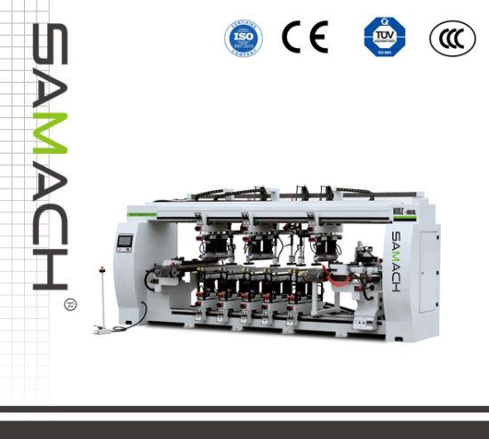 High Quality Woodworking Tool Automatic Feeding Boring Machine Belt Rmz-10bxl