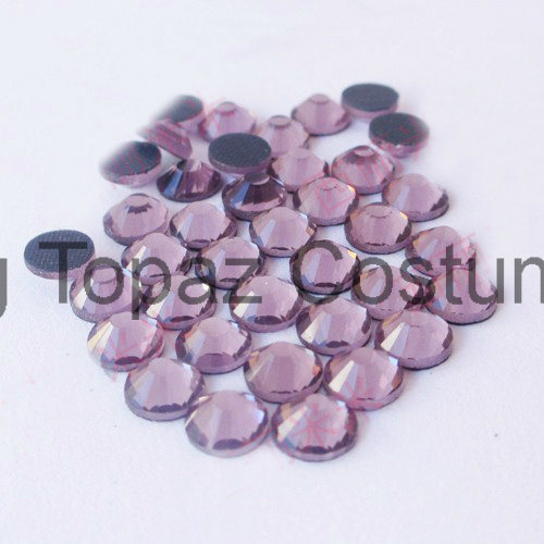 China Korean Low Lead Hot Fix Rhinestone for Dresses (SS16 amethyst /2A Grade) pictures & photos
