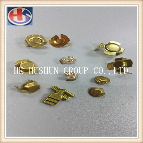 Custom- Made Brass Terminal Used for Power Tool Carbon Brush (HS-BT-002) pictures & photos