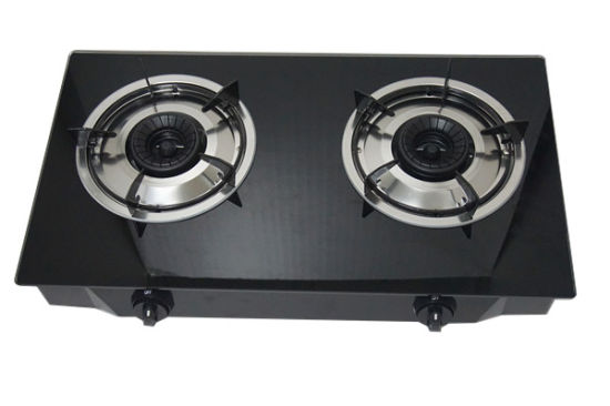Tempered Glass Table-Top Two Burner Gas Cooker Jp-Gcg205