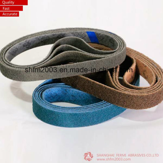 Scoth-Brite Abrasives Sanding Belts with Coarse, Medium, Fine and Very Fine pictures & photos