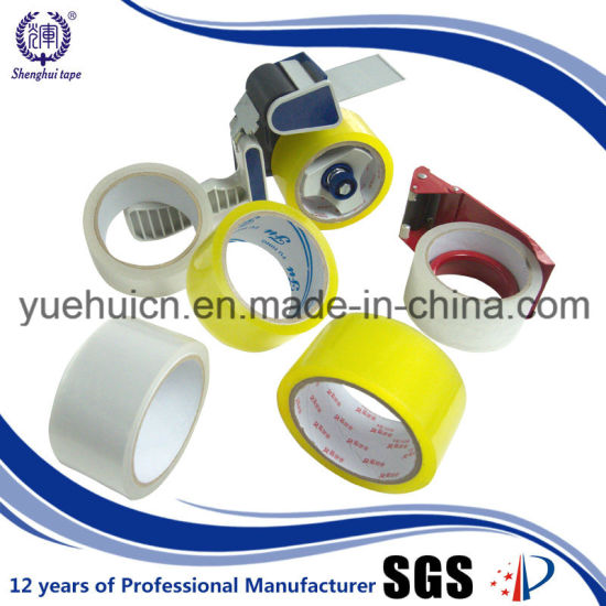 with HS Code Heavy Duty Yellowish Clear Adhesive Tape pictures & photos