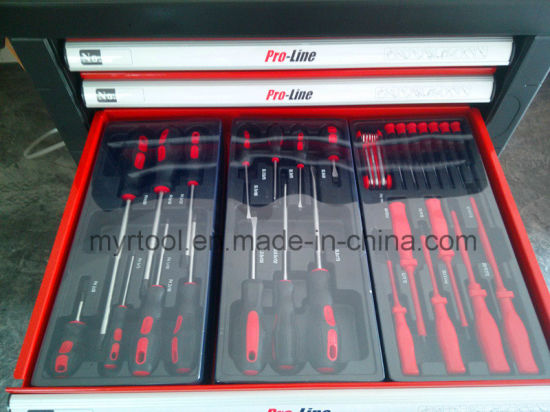 228PCS-7 Drawers Best Quality Trolley Tool Cabinet (FY228A) pictures & photos