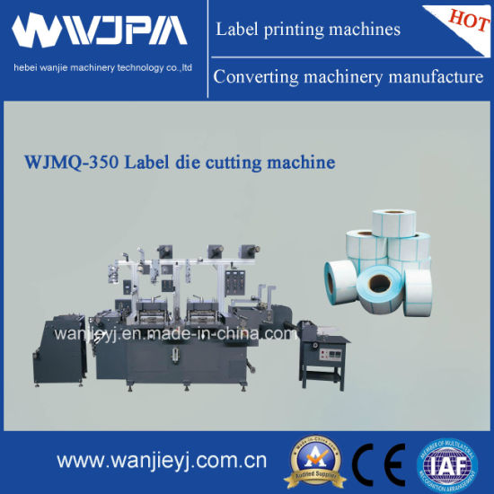 Automatic High Speed Double Station Label Die-Cutting Machine (WJMQ-350)