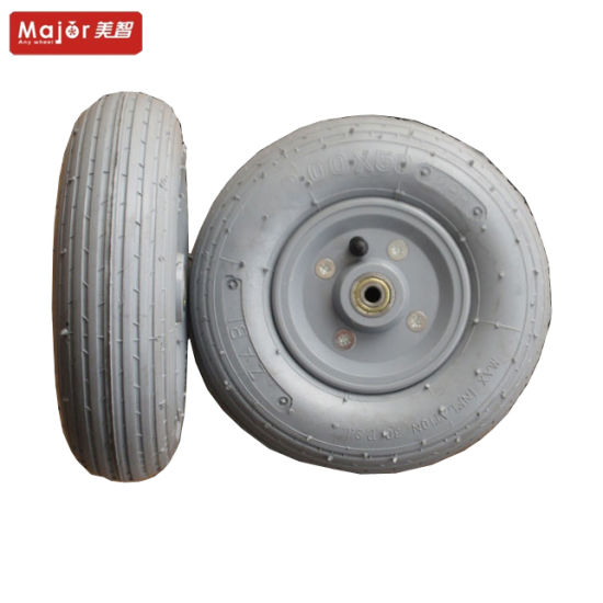 200X50 Grey Pneumatic Rubber Wheel for Golf Cart pictures & photos