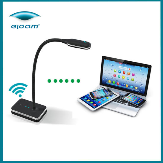 Flexible Arm Document Camera, Wireless Visualizer for Education Presentation Solution