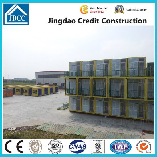 Prefabricated Expandable Modular Mobile Flat Pack Luxury Prefab Kit Steel Office Shipping Container House pictures & photos
