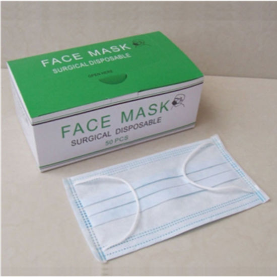 Mask Nonwoven Face rsf 3-ply Disposable Series