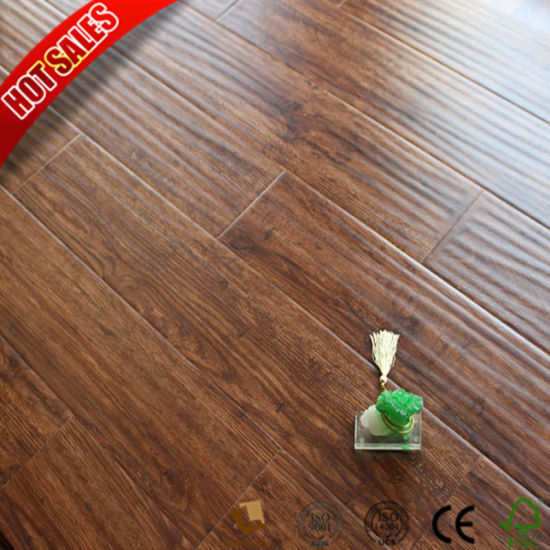 China Traditional Living Laminate Flooring Gris 8mm For Bedroom