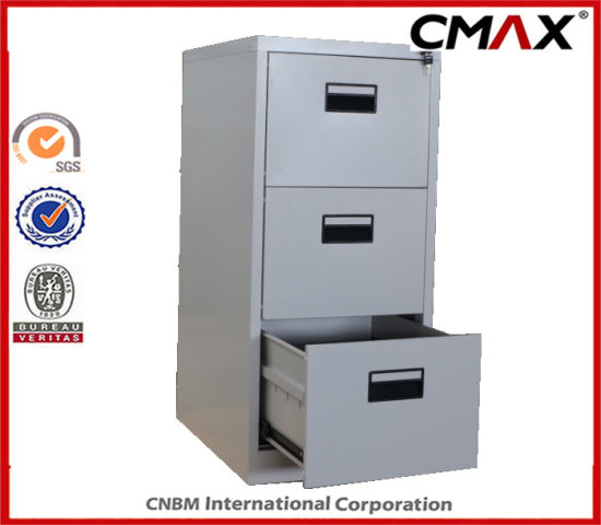 Steel Cabinet 3 Drawers Filing Cabinet Metal Vertical File Storage Office  Cabinet Cmax Fd03 001