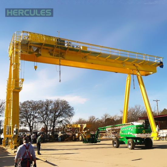 CE Approved Heavy Duty 75t Girder Gantry Crane pictures & photos