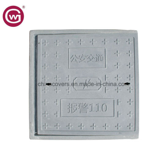China En124 Polymer Inspection Manhole Cover/ Round Gully Inspection