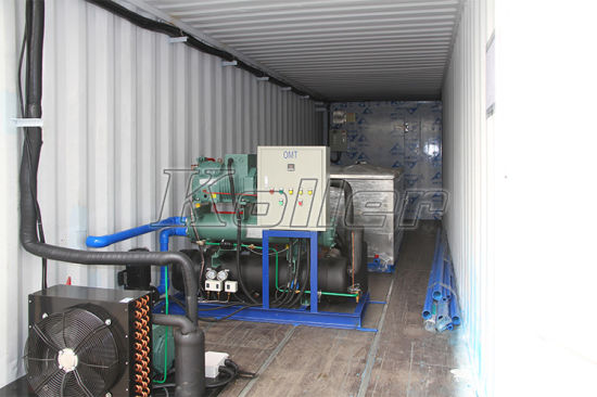 3 Tons/Day Containerized Ice Block Machine pictures & photos