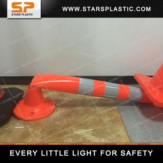 80cm EVA Reflective Traffic Flexible Bollard/Warning Post/Delineator pictures & photos
