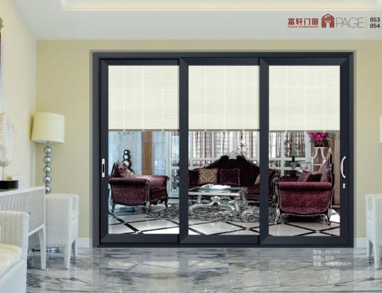 Charmant Fashionable Durable Aluminium Center Pivot Door/Middle Hung Pivot Door