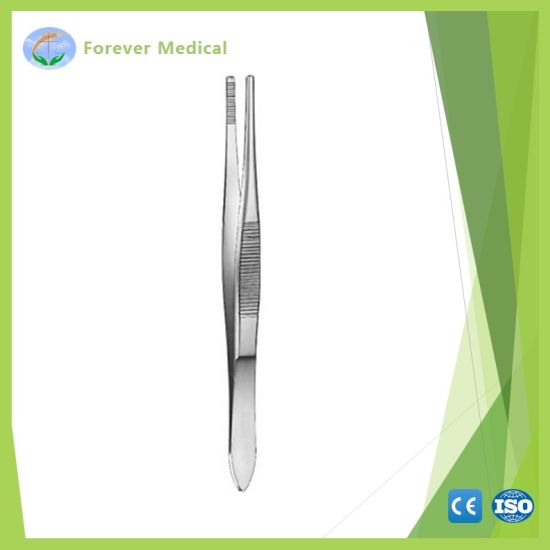 Zd559r Tissue Forceps 160mm Stainless pictures & photos