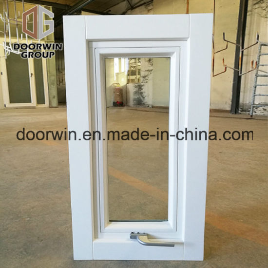 High Quality Aluminum Awing Window for Villa, Customized colorful Top Hung Double Glazing Glass Window