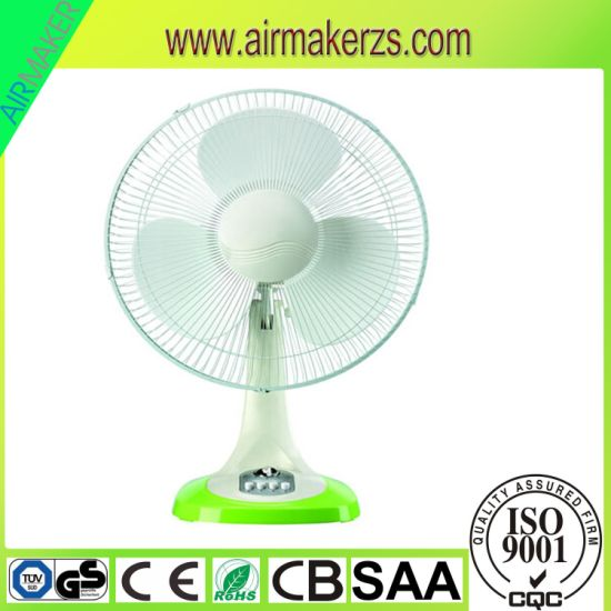 16inch Electric Table Fan with Safety Grills of 45W pictures & photos