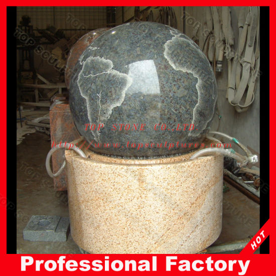 China Nature Stone Ball Fountain For Home Or Garden Decoration Gorgeous Stone Ball Garden Decoration