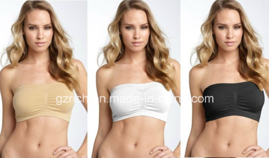 Bandeau Bra/Bandeau Crop Top Bra Boob Tubes pictures & photos