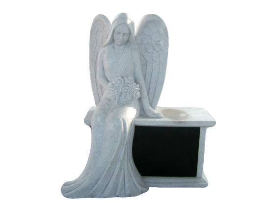 China Granite Angel Memorials Bench pictures & photos