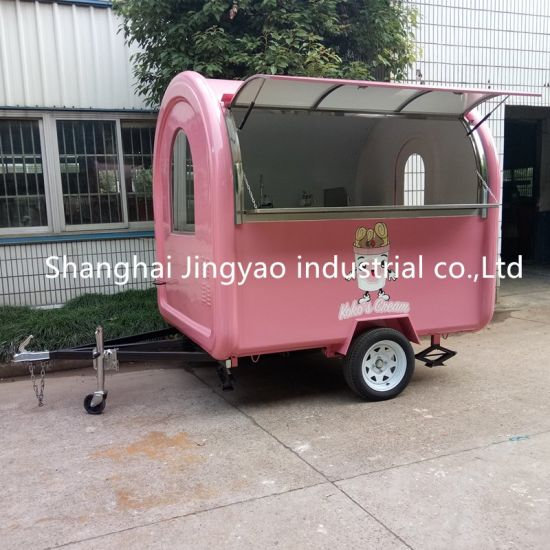 China Electric Type Cold Drink Mobile Freezer Juice Coffee Ice Cream