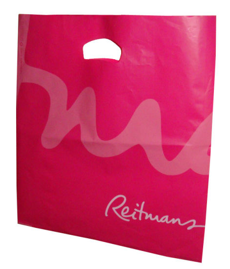 Plastic Handle and Shopping Bags with Custom Artwork pictures & photos