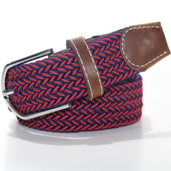 J04 Mix Colour in Fashion Elastic Webbing Belts
