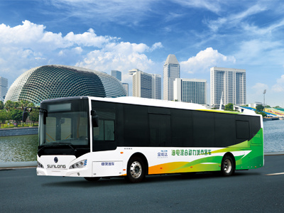 New Design Professional Supply Sunlong Hybrid City Bus (Slk6129ah5) pictures & photos